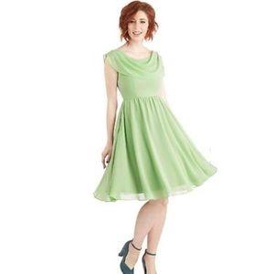 Pas de Bouree a day dress from ModCloth- minty!